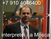 Interprete italiano-russo a Mosca e St. Petersburg